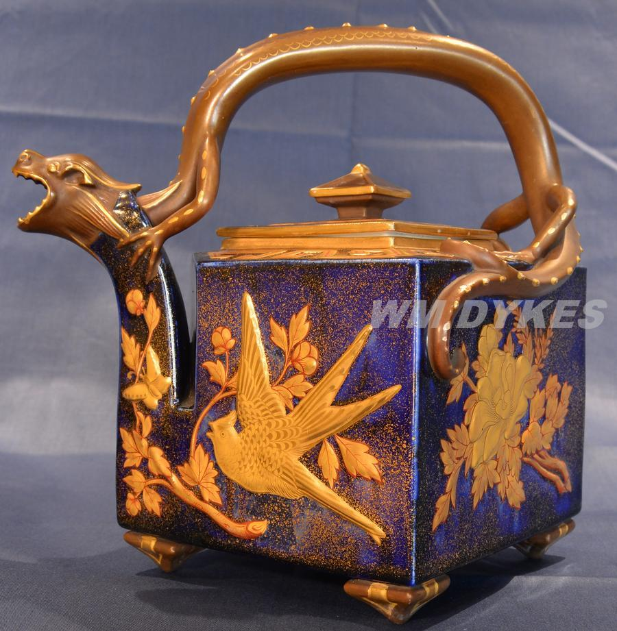 Royal Worcester Dragon Teapot